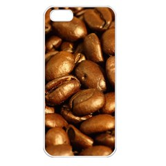 Chocolate Coffee Beans Apple Iphone 5 Seamless Case (white)