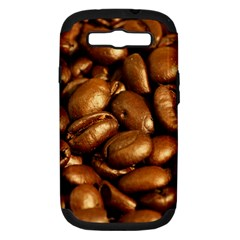 Chocolate Coffee Beans Samsung Galaxy S Iii Hardshell Case (pc+silicone) by trendistuff