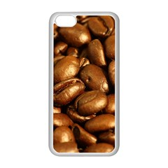 Chocolate Coffee Beans Apple Iphone 5c Seamless Case (white) by trendistuff