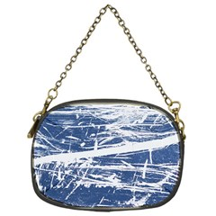 Blue And White Art Chain Purses (one Side)  by trendistuff