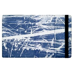 Blue And White Art Apple Ipad 3/4 Flip Case by trendistuff