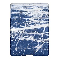 Blue And White Art Samsung Galaxy Tab S (10 5 ) Hardshell Case  by trendistuff