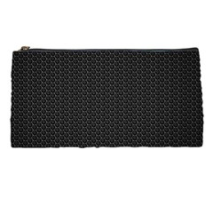 Black Honeycomb Pencil Cases by trendistuff