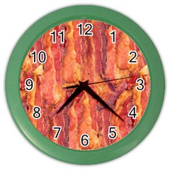 Bacon Color Wall Clocks by trendistuff