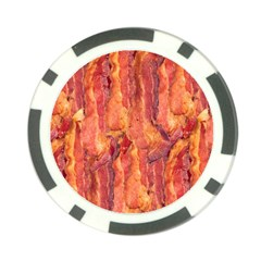 Bacon Poker Chip Card Guards by trendistuff