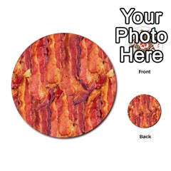 Bacon Multi Purpose Cards (round)  by trendistuff