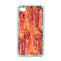 Bacon Apple Iphone 4 Case (color) by trendistuff