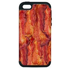 Bacon Apple Iphone 5 Hardshell Case (pc+silicone) by trendistuff