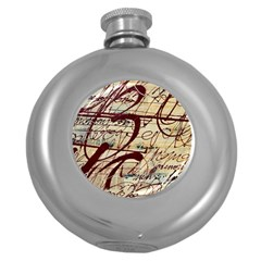 Abstract 2 Round Hip Flask (5 Oz) by trendistuff
