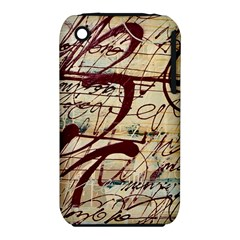Abstract 2 Apple Iphone 3g/3gs Hardshell Case (pc+silicone) by trendistuff