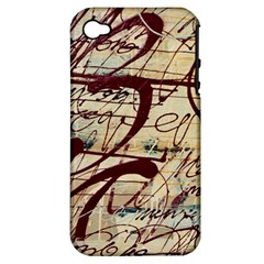 Abstract 2 Apple Iphone 4/4s Hardshell Case (pc+silicone) by trendistuff