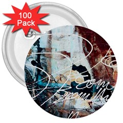 Abstract 1 3  Buttons (100 Pack)  by trendistuff