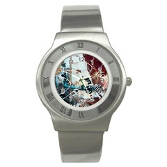 Abstract 1 Stainless Steel Watches by trendistuff