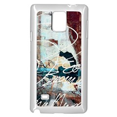 Abstract 1 Samsung Galaxy Note 4 Case (white) by trendistuff