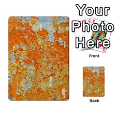 Yellow Rusty Metal Multi Purpose Cards (rectangle)  by trendistuff