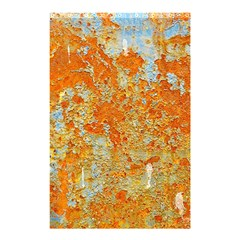 Yellow Rusty Metal Shower Curtain 48  X 72  (small)  by trendistuff