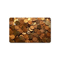 Us Coins Magnet (name Card) by trendistuff