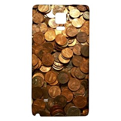 Us Coins Galaxy Note 4 Back Case by trendistuff