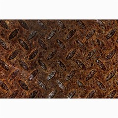 Rusty Metal Pattern Collage 12  X 18  by trendistuff