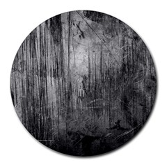 Grunge Metal Night Round Mousepads by trendistuff