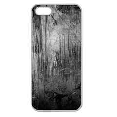 Grunge Metal Night Apple Seamless Iphone 5 Case (clear) by trendistuff