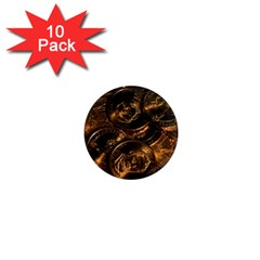 Gold Coins 2 1  Mini Magnet (10 Pack)  by trendistuff