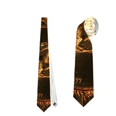 Gold Coins 2 Neckties (one Side)  by trendistuff