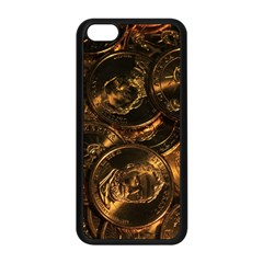 Gold Coins 2 Apple Iphone 5c Seamless Case (black) by trendistuff