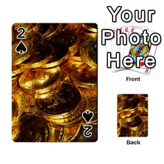 Gold Coins 1 Playing Cards 54 Designs