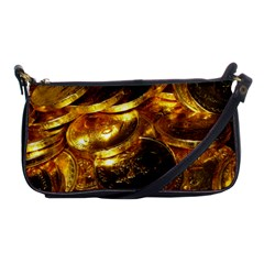 Gold Coins 1 Shoulder Clutch Bags by trendistuff
