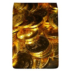 Gold Coins 1 Flap Covers (l)  by trendistuff
