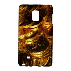 Gold Coins 1 Galaxy Note Edge by trendistuff