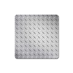 Diamond Plate Square Magnet by trendistuff