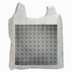 Diamond Plate Recycle Bag (one Side) by trendistuff