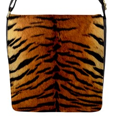 Tiger Fur Flap Messenger Bag (s) by trendistuff