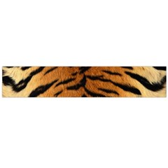 Tiger Fur Flano Scarf (large)  by trendistuff