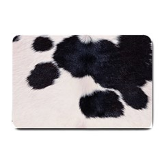 Spotted Cow Hide Small Doormat  by trendistuff