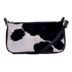 Spotted Cow Hide Shoulder Clutch Bags by trendistuff