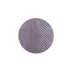 Silver Snake Skin Golf Ball Marker (10 Pack) by trendistuff