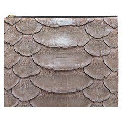 Scaly Leather Cosmetic Bag (xxxl)  by trendistuff