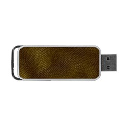Reptile Skin Portable Usb Flash (one Side) by trendistuff