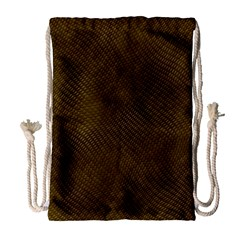 Reptile Skin Drawstring Bag (large)