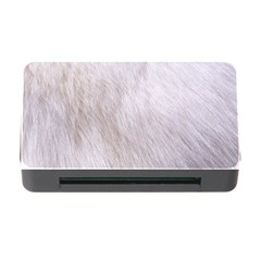 Rabbit Fur Memory Card Reader With Cf by trendistuff