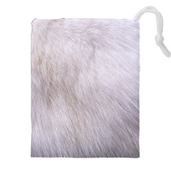 Rabbit Fur Drawstring Pouches (xxl)