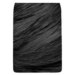 Long Haired Black Cat Fur Flap Covers (s)  by trendistuff