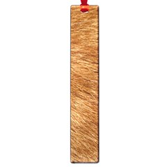 Light Brown Fur Large Book Marks