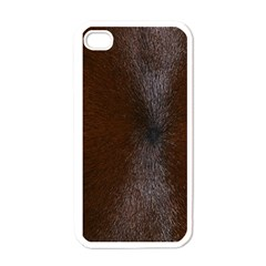 Horse Fur Apple Iphone 4 Case (white) by trendistuff