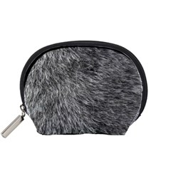 Grey Wolf Fur Accessory Pouches (small)  by trendistuff