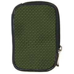 Green Reptile Skin Compact Camera Cases by trendistuff
