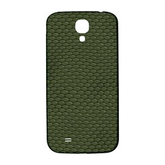 Green Reptile Skin Samsung Galaxy S4 I9500/i9505  Hardshell Back Case by trendistuff